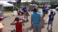 Video:  Fans Watch Partial Eclipse during Little League World Series
