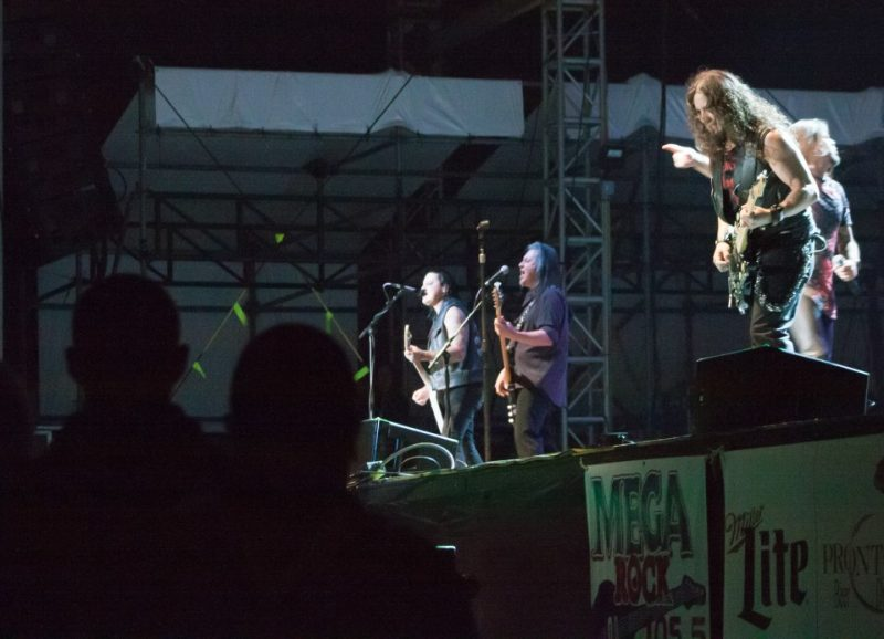 PHOTO SLIDESHOW: Queensryche with Kix & Autograph Close Out Clearfield Fair