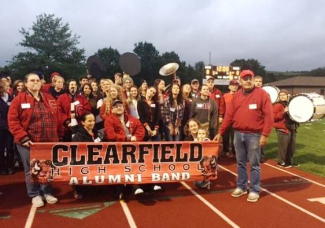 Clearfield Bison Alumni Band Event Set for Homecoming on Sept. 15