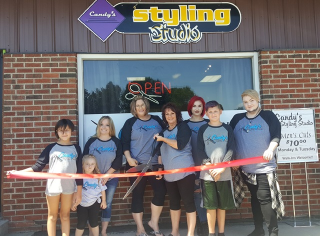 Candy's Styling Studio Holds Ribbon-Cutting in DuBois