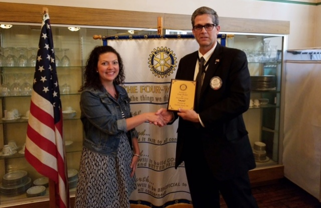 Borden is 2017 Rotary Outstanding Citizen