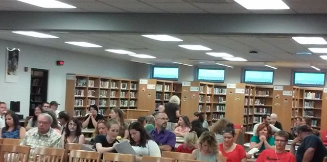 Crowd Protests Changes to Elementary Music Program at Clearfield School Board Meeting
