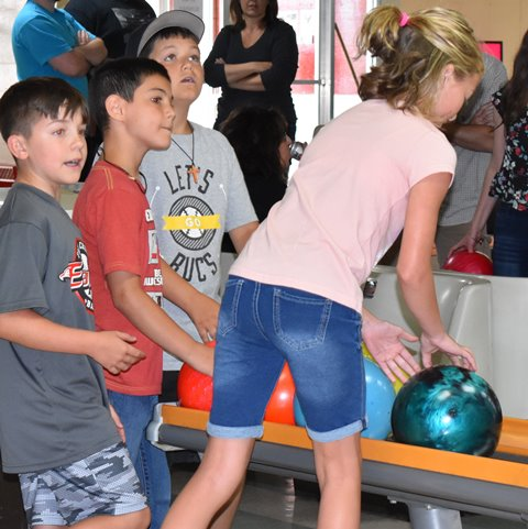 DCC Welcomes Students with Back-To-School Bowling Party