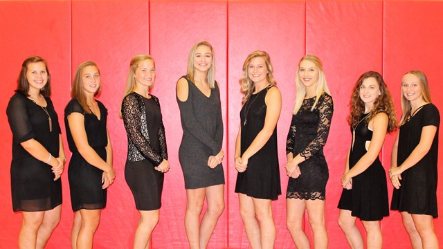 Student Council Introduces Clearfield Homecoming Court