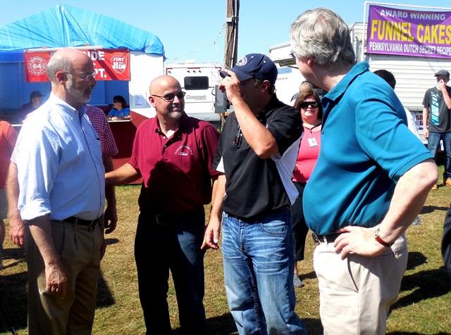 Gov. Wolf and Ag Secretary Visit Harmony Grange Fair
