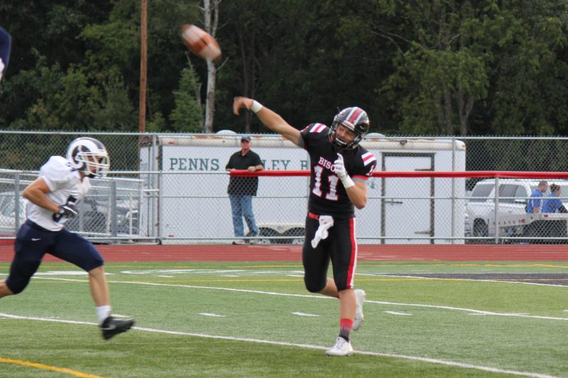 Rumery's Five-Touchdown Performance Pushes Bison Past Penns Valley