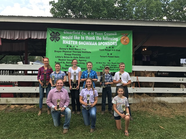 Winners Selected in 4-H Contests at Clearfield County Fair