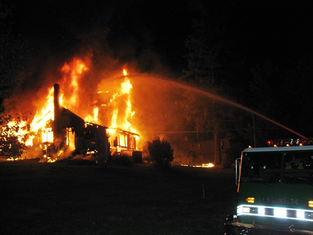 Fire Destroys Decatur Twp. Residence, Remains Under Investigation