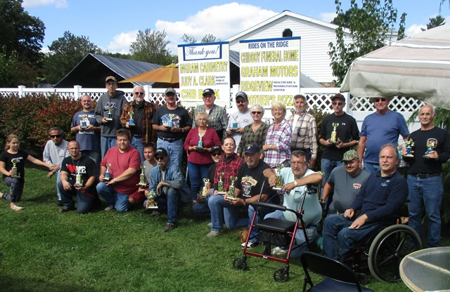 "Curwensville Rotary's ""Rides on the Ridge"" Winners Announced"