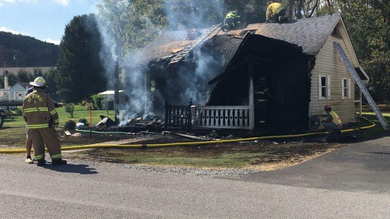 Brockway House Fire Under Investigation