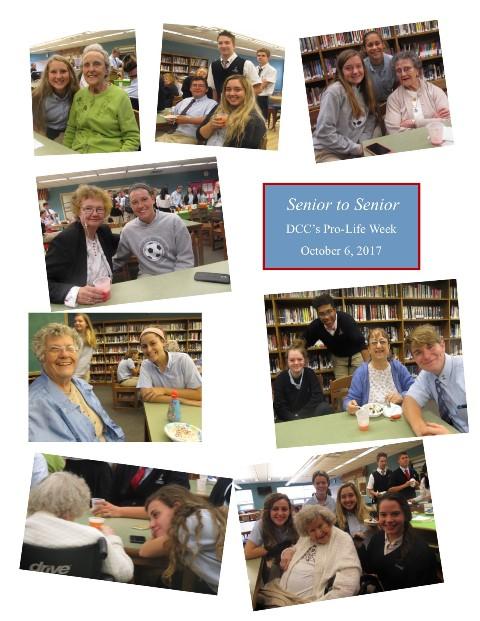 Senior to Senior Project Celebrates Life