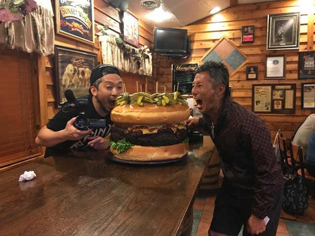 Clearfield Pub's World-Famous Burger Challenge to be Featured on Japanese TV Show