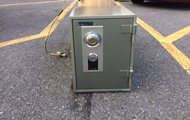 Clearfield Police Trying to Locate Owner of Home Security Safe