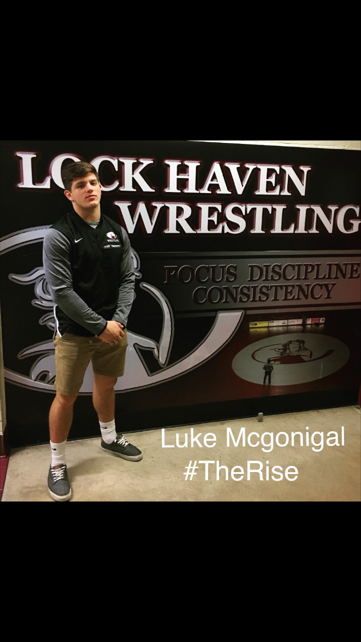 Clearfield Wrestler Luke McGonigal Headed to LHU
