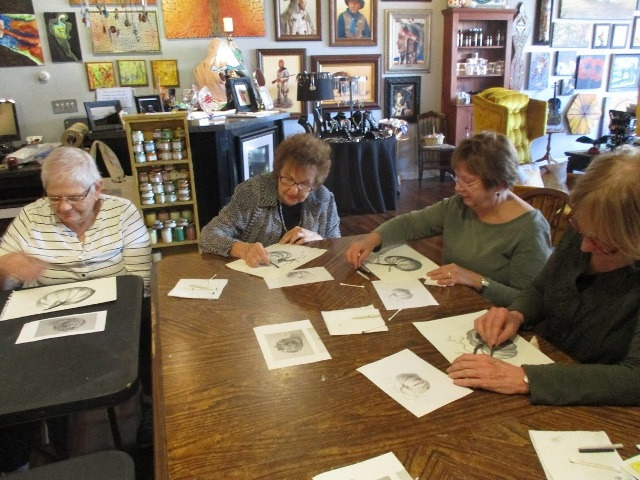 Clearfield Community Life-long Learning Institute Participants Create Art