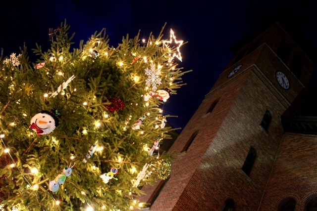 PHOTO SLIDESHOW: Large Crowd Gathers for Holiday Light-Up Celebration in Clearfield