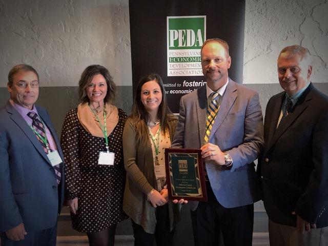Jefferson County Development Council Inc. Receives PEDA Award