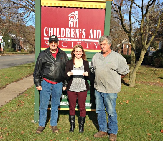 Sportsmen's Association Donates to Children's Aid Society