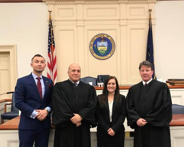 McGovern Admitted to Clearfield County Bar