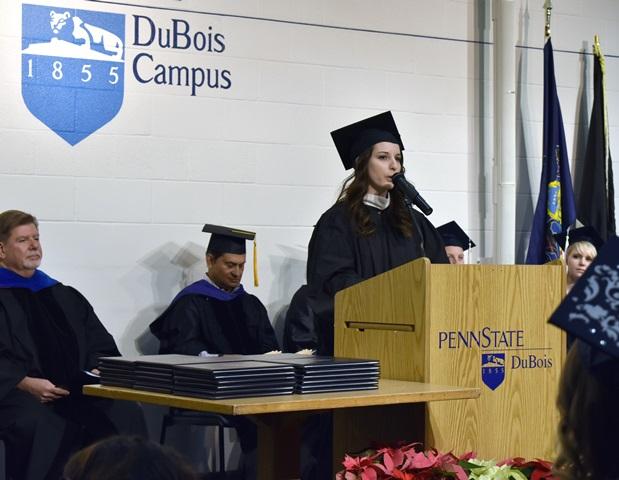 Penn State DuBois Celebrates Fall Graduates