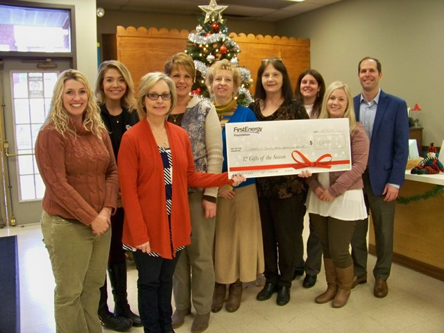 First Energy Makes Donation to CCAAA