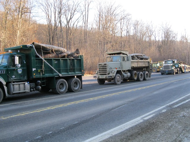 Bureau of Forestry Hauls 22 Loads of Metal for Recycling