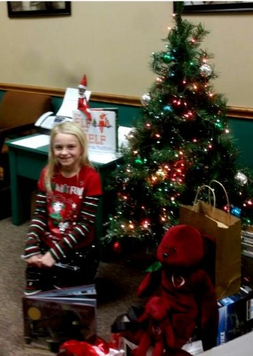Clearfield Chamber Announces Elf on the Shelf Winner