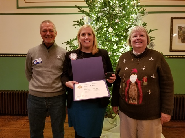 Wisor Receives Paul Harris Fellow Award