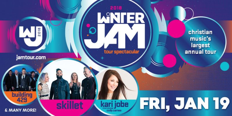 Winter Jam Tour Spectacular is Jan. 19