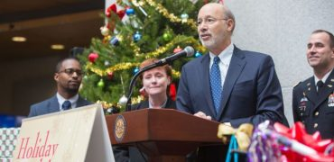 Wolf Reminds Pennsylvanians that the Holiday Season is the Perfect Time to Give in Support of Those Who Gave