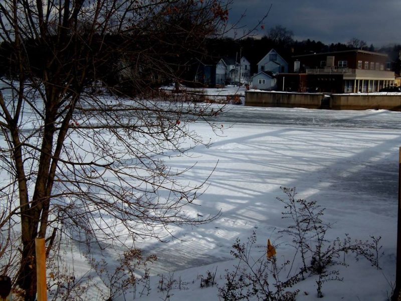 Clearfield Borough Residents Warned to Stay off The Ice