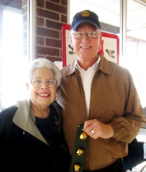 Clearfield Rotarians and Friends Serve as Salvation Army Bell Ringers