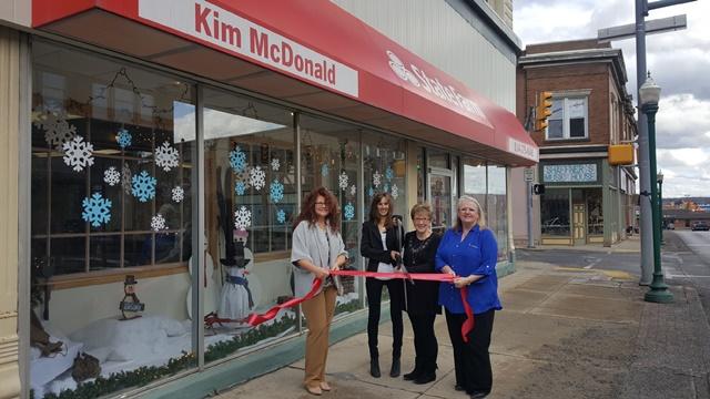 Kim McDonald State Farm Holds Ribbon-Cutting in DuBois