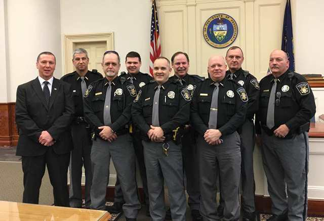 Sheriff, Deputies Administered Sworn Oath of Office