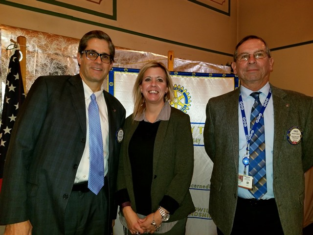 Clearfield Rotary Welcomes New Member