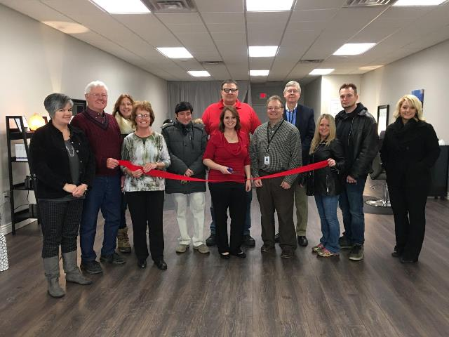 Tangled Salon Holds Grand Opening with Ribbon-Cutting