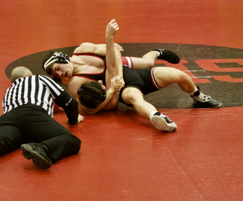 Bellefonte Defeats Bison Wrestling 35-30