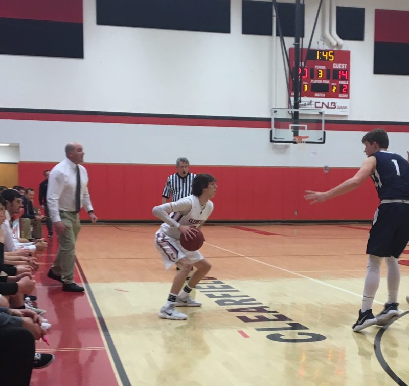 Bison Cagers Overcome Stale First Half to Down Rams