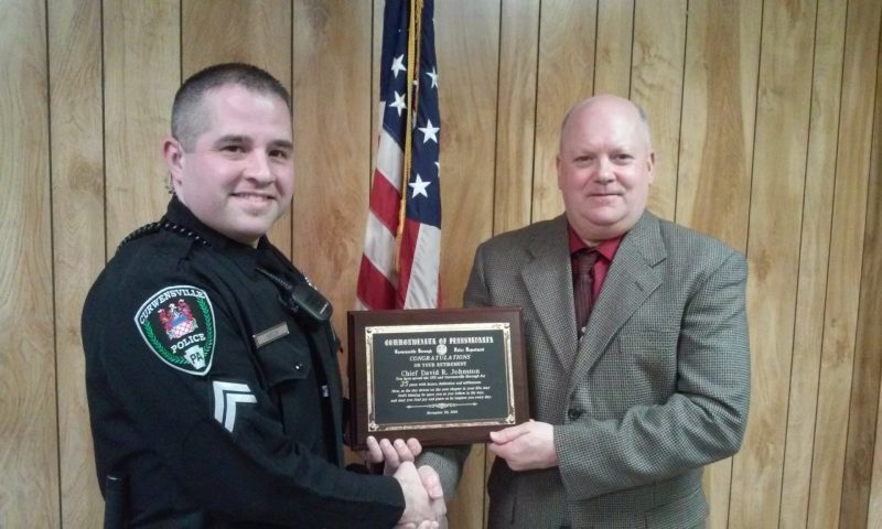 Curwensville Welcomes New Police Chief