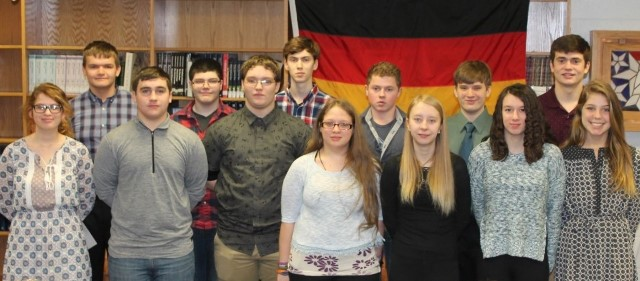 13 Clearfield Students Inducted into German Honor Society