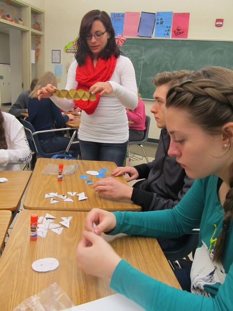 DCC Students Learn Geometry Concepts Through Hands-On Activities