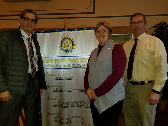 Clearfield Rotary Hears About Red Cross' Smoke Alarm Program