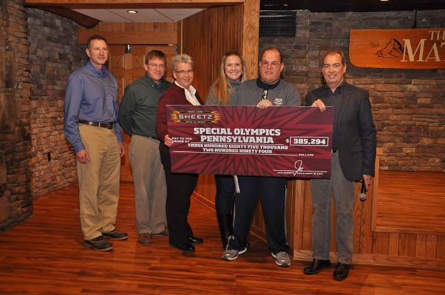 Sheetz Donates Over $300k to Special Olympics PA