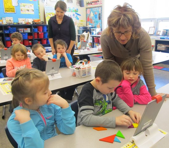 OSMO IPad Activities Enhance Learning at DCC Elementary