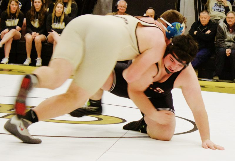 Curwensville Wrestling Celebrates Senior Night in 51-26 Loss To Brockway