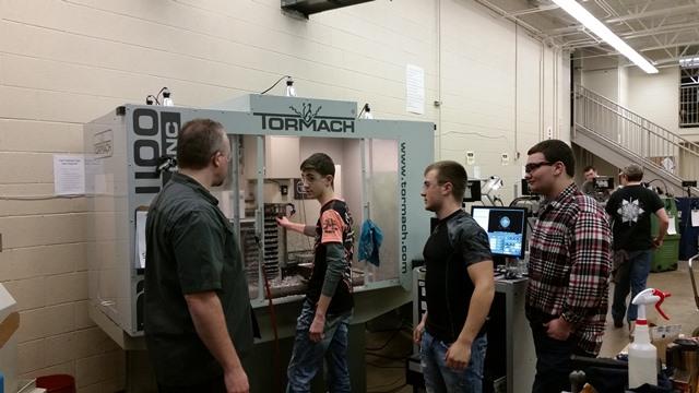 Precision Machine Students Design, Make Awards for Contest