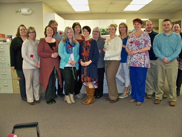 CCAAA Celebrates Social Worker Month with Employees