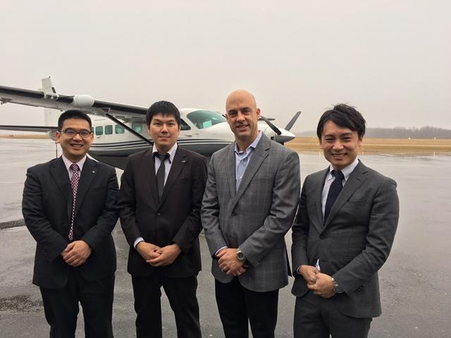 Japanese Executives Visit Paris Companies via DuBois Airport