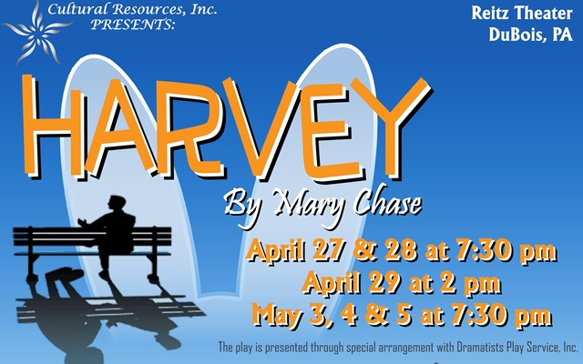 Reitz Theater to Present Harvey by Mary Chase