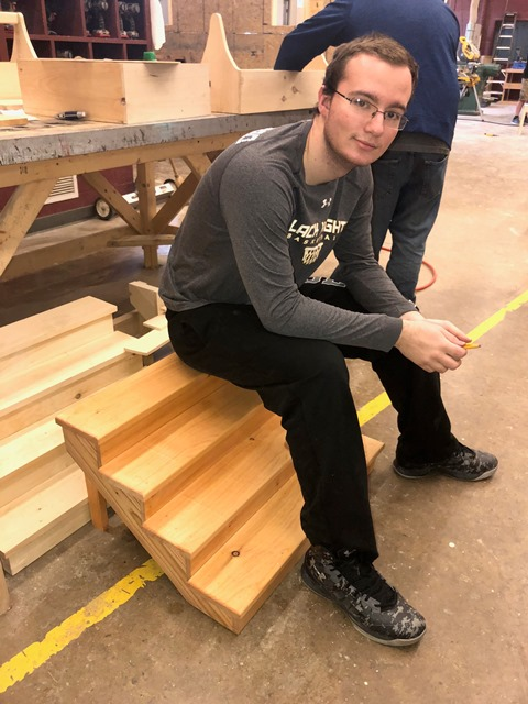 CCCTC Students Prepare for National Occupational Competency Testing Institute Test